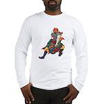 Japanese Samurai Warrior Long Sleeve T-Shirt