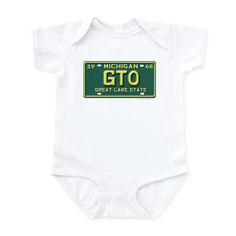 GTO License Plate Infant Creeper