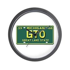 GTO License Plate Wall Clock