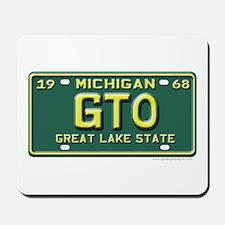 GTO License Plate Mousepad