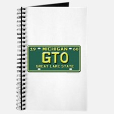 GTO License Plate Journal