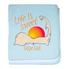 Life is Sweet Cape Cod baby blanket