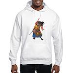 Japanese Samurai Warrior Hooded Sweatshirt