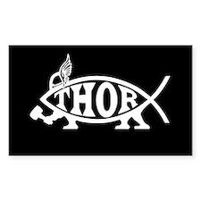 Thor Asatru Fish Decal