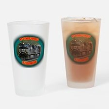Norfolk & Southern Drinking Glass