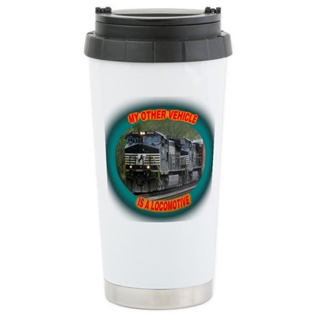 Norfolk & Southern Stainless Steel Travel Mug