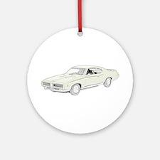 1969 Pontiac GTO Judge -color Ornament (Round)