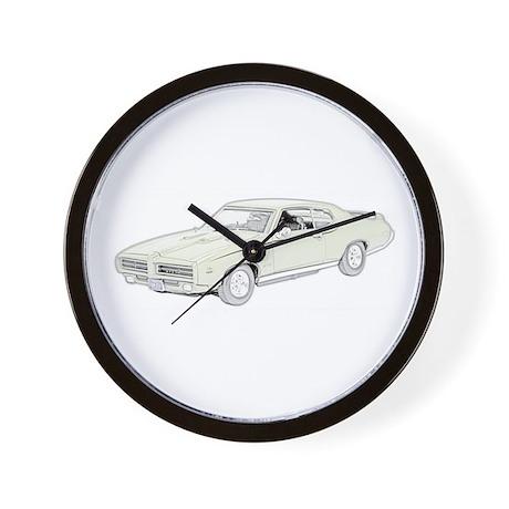 1969 Pontiac GTO Judge -color Wall Clock