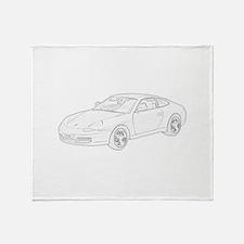 Porsche 911 Throw Blanket