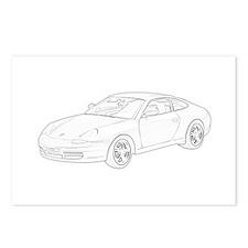 Porsche 911 Postcards (Package of 8)