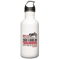 Funny Twilight motorcycles Water Bottle