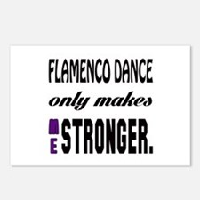 Flamenco dance only makes Postcards (Package of 8)