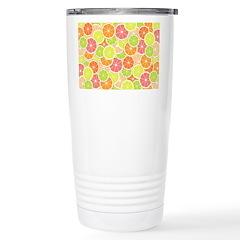 Citrus [pattern] Travel Mug