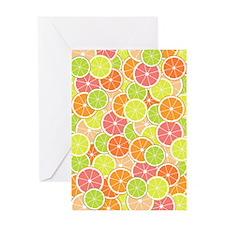 Citrus [pattern] Greeting Card