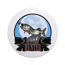 Musky hunter 7 Ornament (Round)