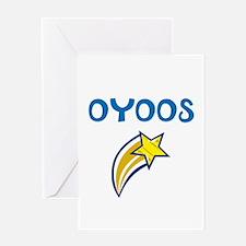 OYOOS Star design Greeting Card
