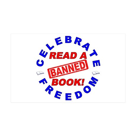 Read a Banned Book! 38.5 x 24.5 Wall Peel
