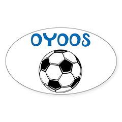 OYOOS Soccer design Decal