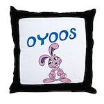 OYOOS Kids Bunny design Throw Pillow