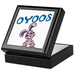 OYOOS Kids Bunny design Keepsake Box