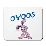 OYOOS Kids Bunny design Mousepad