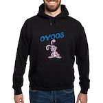 OYOOS Kids Bunny design Hoodie (dark)