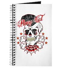 Vintage Skull Journal