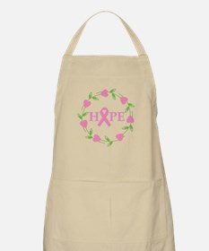 Breast Cancer Hope Hearts Apron