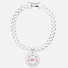 Breast Cancer Hope Hearts Bracelet