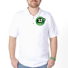 12th Anniversary Green Gift T-Shirt