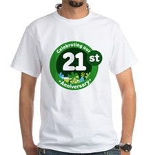 21st Anniversary Celebration Gift Shirt