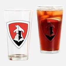 Funny German ww2 Drinking Glass