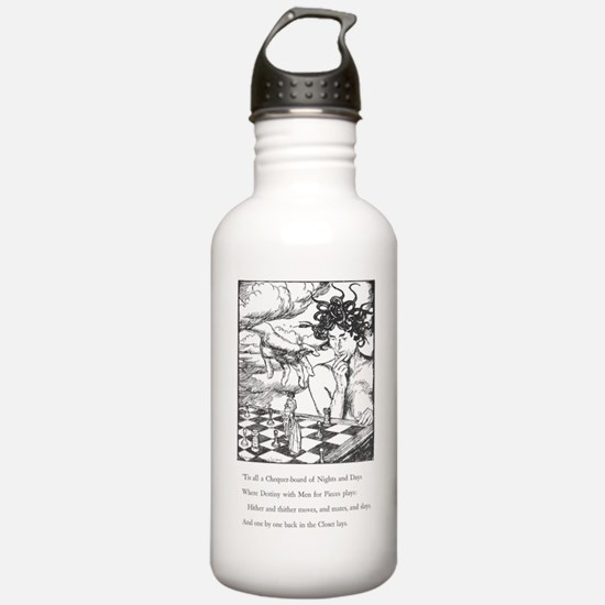 Quatrain XLIX Water Bottle