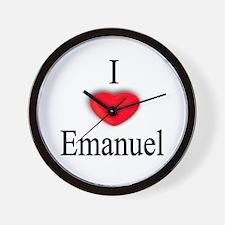 Emanuel Wall Clock