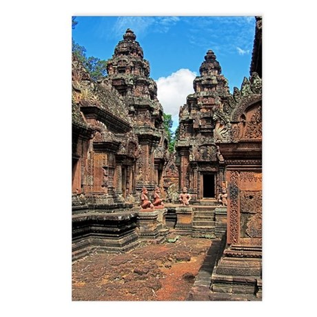 Banteay Srei Chandis Postcards (Package of 8)