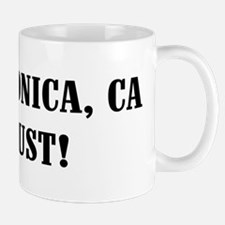 Santa Monica or Bust! Mug