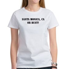 Santa Monica or Bust! Tee