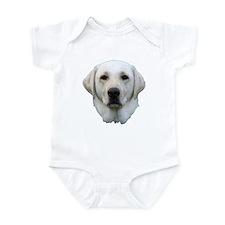 White lab 3 Infant Bodysuit