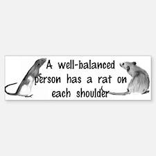 Well-Balanced Bumper Stickers