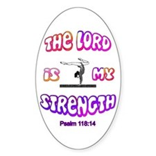 Lord Is My Strength Decal