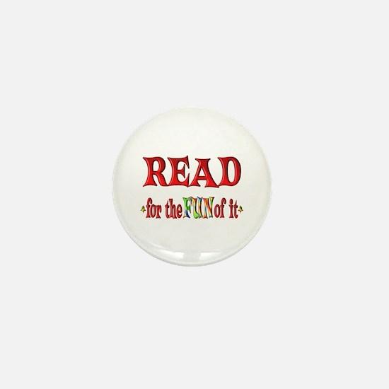 Reading Fun Mini Button