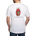 StubbyDog Logo & Sgt. Stubby Fitted T-Shirt