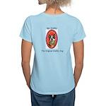 StubbyDog Logo & Sgt. Stubby Women's Light T-S
