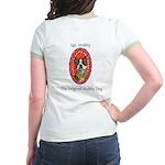 StubbyDog Logo & Sgt. Stubby Jr. Ringer T-Shir