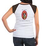 StubbyDog Logo & Sgt. Stubby Women's Cap Sleev