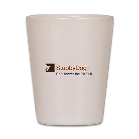 StubbyDog Logo Shot Glass