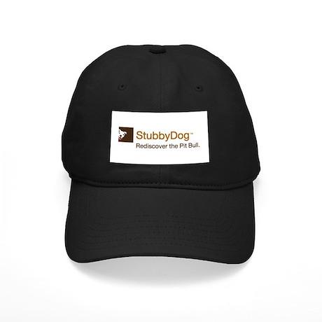 StubbyDog Logo Black Cap