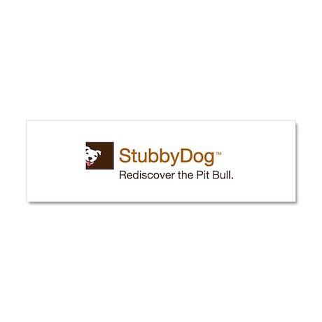 StubbyDog Logo Car Magnet 10 x 3