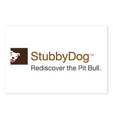 StubbyDog Logo Postcards (Package of 8)