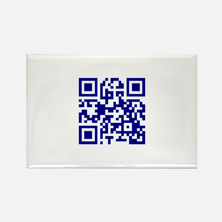 My own QR Rectangle Magnet